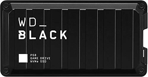 WD BLACK 1TB P50 Game Drive SSD, Excelente rendimiento para tus juegos en cualquier parte