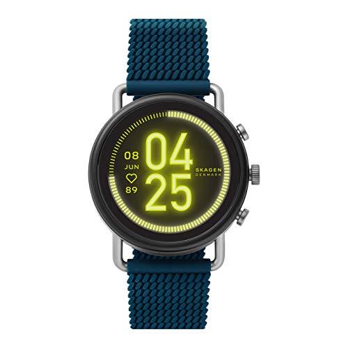 Skagen Smartwatch Pantalla táctil para Hombre de Connected con Correa en Silicona SKT5203