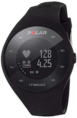 Polar M200 - Reloj de Running con GPS y Frecuencia cardíaca en la muñeca - Actividad 24/7 - Negro,...