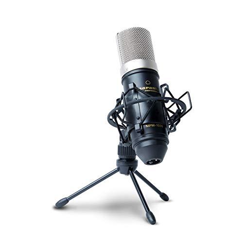 Marantz Professional MPM-1000 - Мicrófono de condensador con soporte de escritorio y cable XLR,...