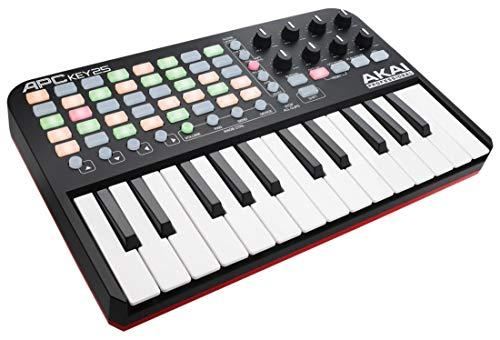 AKAI Professional APC KEY 25 - Teclado controlador MIDI USB para Ableton con 25 teclas de estilo...