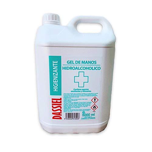 Gel hidroalcohólico higienizante de manos 5L de Dassiel