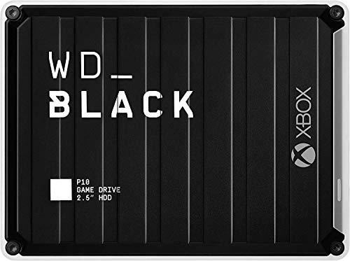 WD_BLACK P10 Game Drive de 5 TB para llevar tu colección de juegos de PC/Mac o PlayStation allí...
