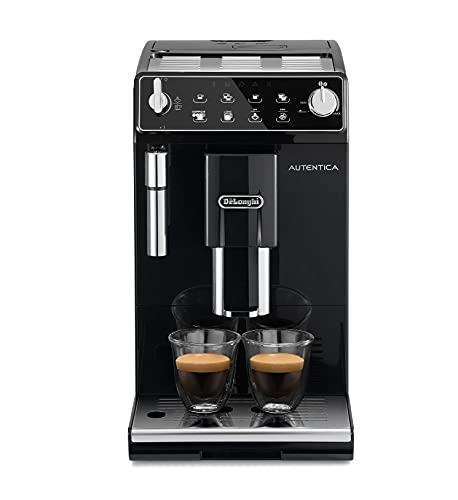 De'longhi Autentica - Cafetera Superautomática para Espresso y Cappuccino, 2 Tazas, Depósito de...