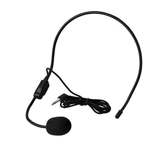 Microphone, MICR¨®Fono de Condensador, MICR¨®Fono con Diadema Profesional de 3,5 mm Jack Audio...
