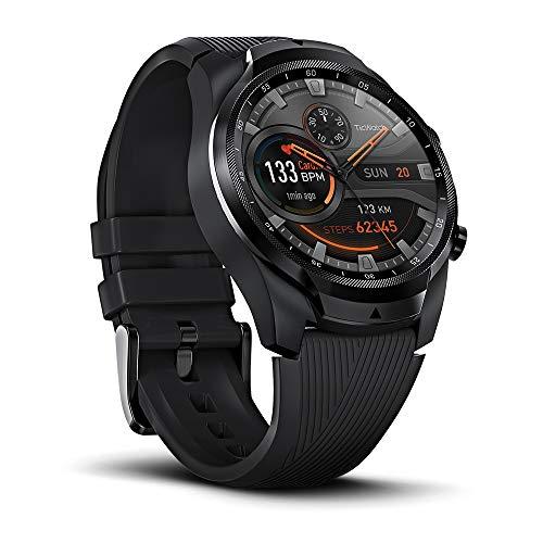 TicWatch Pro 4G / LTE Smartwatch PRO, 1G RAM 4GB Memoria, Monitoreo del sueño, Ejercicio y estado...
