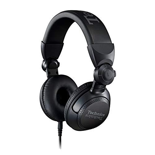 Technics EAH-DJ1200EK - Auriculares DJ (Bloqueo de Cable, Drive de 41 mm, 32 Ohmios/1 kHz de...
