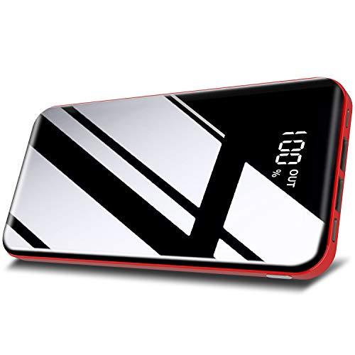 Todamay Batería Externa 26800mAh Power Bank Carga Rápida con 3 Entradas y 2 Puertos USB Cargador...