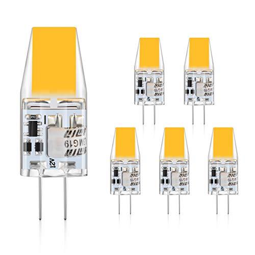 Defurhome G4 LED Bombillas, 3W Reemplaza a las bombillas halógenas de 30W equivalentes, 300LM,...