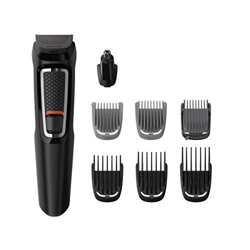 Philips MG3730/15 Recortadora 8 en 1 Maquina recortadora de barba y Cortapelos para hombre cara y...