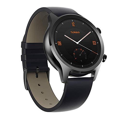 Ticwatch Smartwatches Reloj Inteligente y clásico Mobvoi C2 con Sistema operativo Wear OS de...