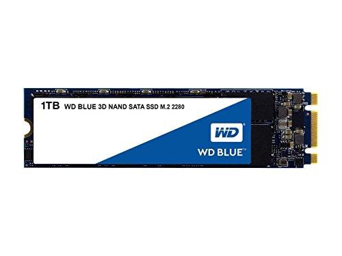 Western Digital WDS100T2B0B WD Blue 1TB 3D NAND Internal SSD M.2 SATA
