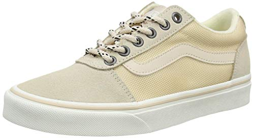 Vans Ward Suede/Canvas, Sneaker Mujer, Arena brasileña al Aire Libre, 34.5 EU