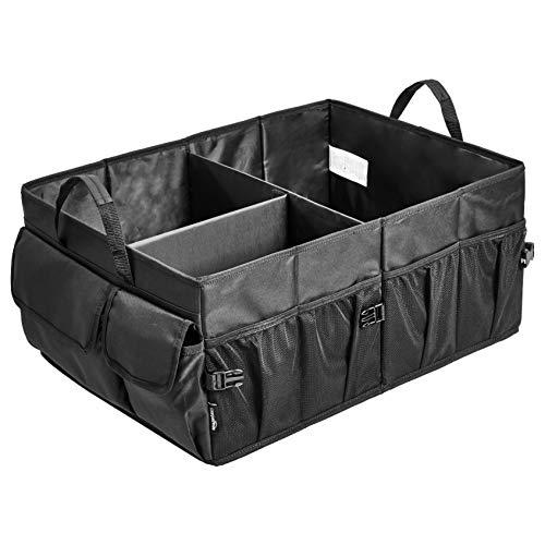 Amazon Basics - Organizador de maletero con diseño plegable para coches, todocaminos y camiones -...
