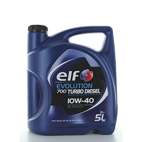Elf - Aceite de Motor el Evolution 700Turbo Diesel 10w40–Botella de 1l