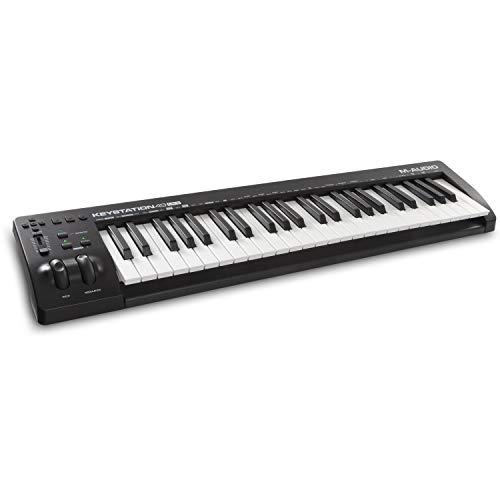 M-Audio Keystation 49 MK3 - Teclado Controlador MIDI USB Compacto de 49 teclas con controles...
