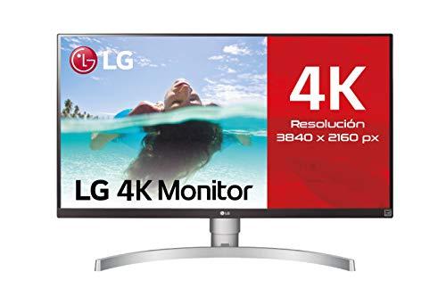 LG 27UL650-W - Monitor 4K UHD de 68,6 cm (27') con Panel IPS (3840 x 2160 píxeles, 16:9, 350...