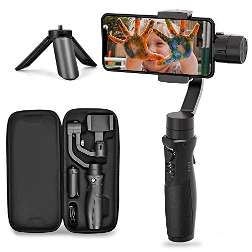 Hohem 3-Axis Gimbal Stabilizer for Smartphone iSteady Mobile Plus Gimbal Handheld with Vlog Youtuber...