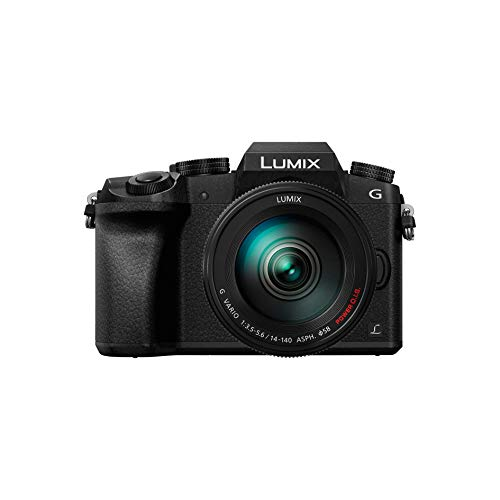 Panasonic Lumix DMC-G7 + H-FS14140 MILC - Cámara Digital (16 MP, 4592 x 3448 Pixeles, Live Mos, 4K...