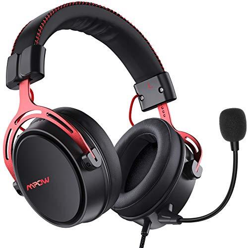 Mpow Air SE Auriculares Gaming para PS5/PS4/PC/Xbox One/Switch/Mac, Auriculares para Juegos con 3D...