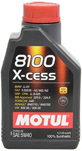 Motul 102784 8100 X-cess 5W40, Aceite de motor, 1 litro