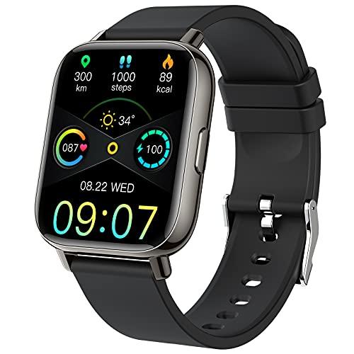Smartwatch, 1.69'' Reloj Inteligente Hombre Mujer Pulsera Actividad Inteligente con...