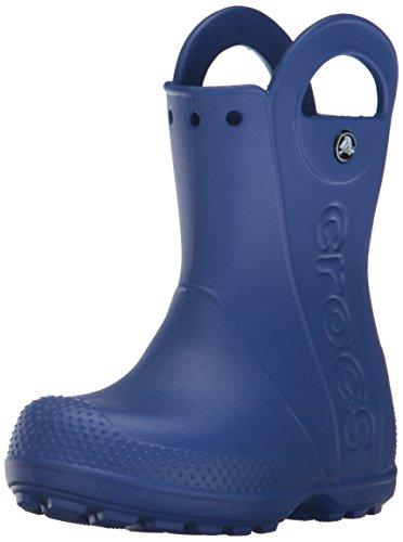 Crocs Handle It Rain Boot K, Botas de Agua Unisex Niños, Azul (Cerulean Blue), 22/23 EU