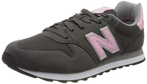 New Balance 500 Core, Zapatillas Mujer, Gris (Grey/Pink GSP), 36 EU