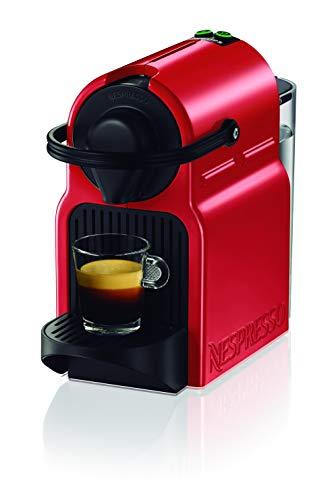 Krups Nespresso Inissia XN1005 - Cafetera monodosis de cápsulas Nespresso, 19 bares, apagado...