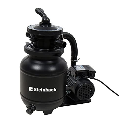 Steinbach Speed Clean Active Balls Plus Filtro de Arena, Negro, bis 19.000 l Wasserinhalt