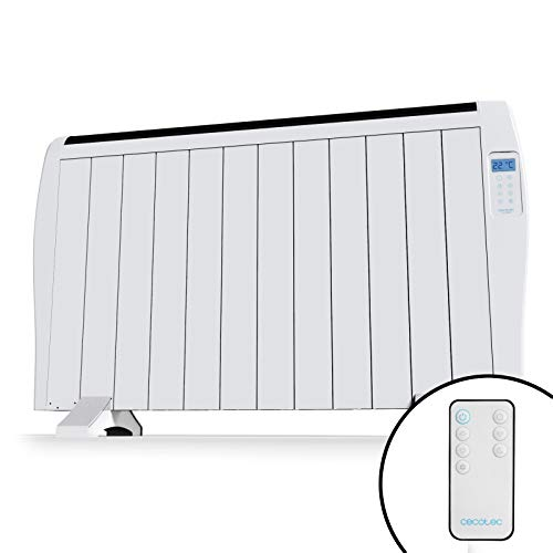 Cecotec Emisor Térmico Bajo Consumo Ready Warm 2500 Thermal 12 Elementos, 1800W, De pared o pie, 3...