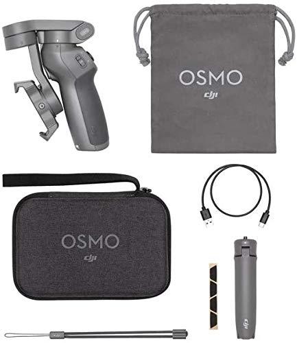 DJI OM3 Combo, Estabilizador de 3 Ejes para Smartphone Compatible con iPhone y Smartphone, Android,...