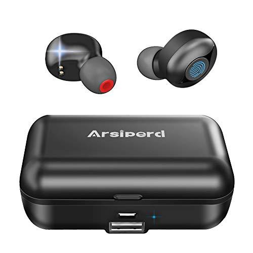 Auriculares Inalámbricos Bluetooth 5.0, Auriculares Deportivos En La Oreja, 60H ReproduccióN...