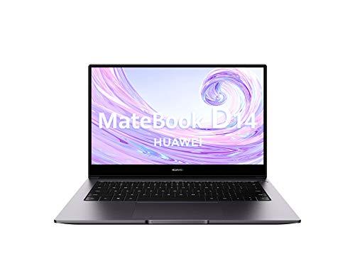 Huawei Matebook D14 - Ordenador Portátil Ultrafino de 14' FullHD (Intel Core i5-10210U, 8GB de RAM,...