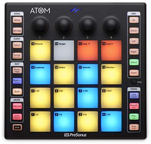 PreSonus ATOM Controlador de pastillas de producción y rendimiento