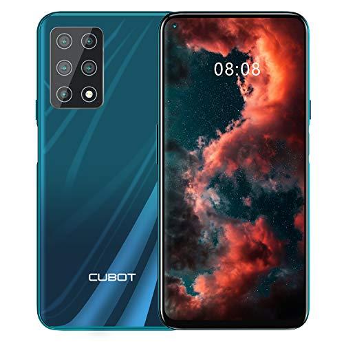 CUBOT X30 Smartphone, 4G Teléfono Móvil, Pantalla FHD + de 6,4 Pulgadas, 6 GB RAM + 128 GB ROM,...