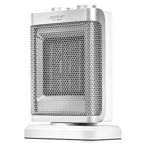 Cecotec Ready Warm 6100 Ceramic Rotate - Calefactor Baño Cerámico Oscilante, 1500 W, Termostato...