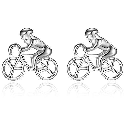 HONEY BEAR Bicicleta Ciclista Bicicleta Ciclismo Gemelos para Hombre Camisa - Bike Cyclist bycycle...
