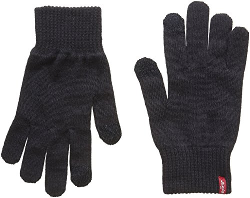 Levi's Ben Touch Screen Gloves, Guantes Hombre, Azul (Blue), Small