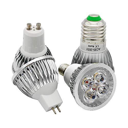 Bombilla 9W 12W 15W Gu10 E27 E14 Mr16 Foco LED Bombilla regulable Reemplazar 30W 40W 50W Lámpara...