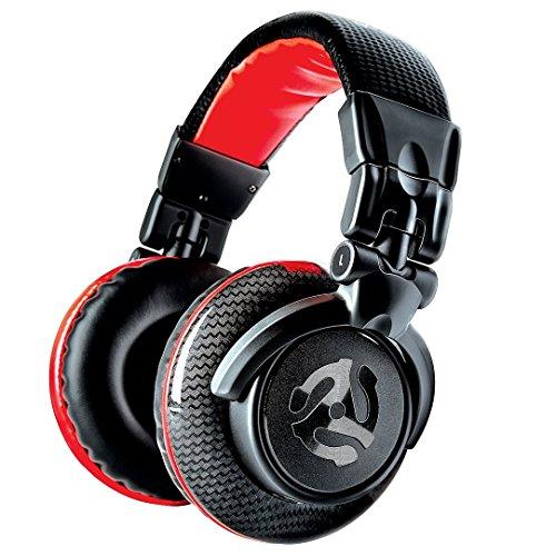 Numark Red Wave Carbon - Auriculares de DJ Ligeros de Alta Calidad y Rango Completo con Diseño...