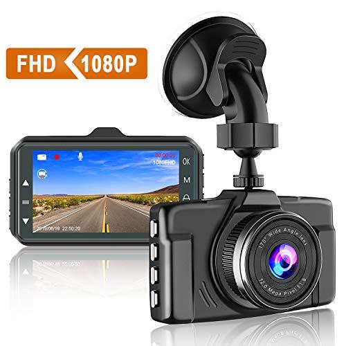 Nueva versión 2020: Cámara CHORTAU Dash Cam 1080P FHD para cámara de salpicadero de coche de 3...