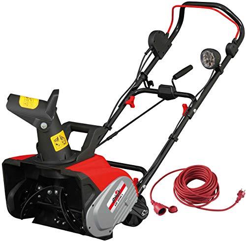 Grizzly Tools Quitanieves eléctrico ESF 2046 L, 2000 W, con iluminación, ancho de 46 cm, altura de...