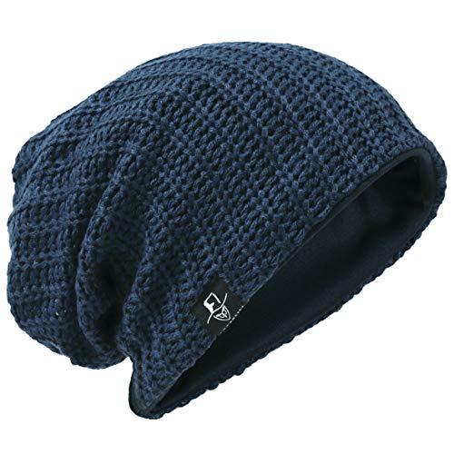 Hombre Gorro de Punto Slouch Beanie Knit Invierno Verano Hat