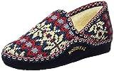 Nordikas Classic, Zapatillas de Estar por casa Mujer, Azul (Marino), 36 EU