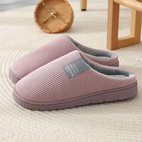 zapatillas casa mujer invierno,2020 nuevas zapatillas de algodón de otoño e invierno para el hogar...