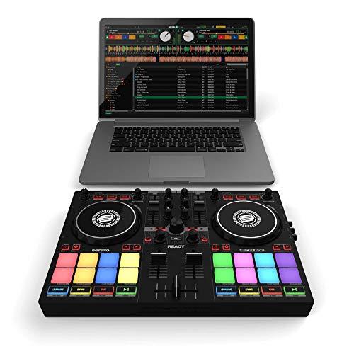 Reloop Ready Controladora de DJ compacta de 2 reproductores diseñada para Serato DJ Lite & DJ Pro