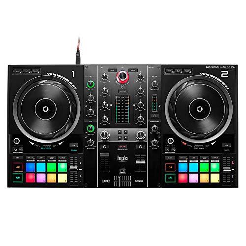 Hercules DJControl Inpulse 500: Controladora de DJ USB de 2 Decks para Serato DJ Lite y DJUCED...