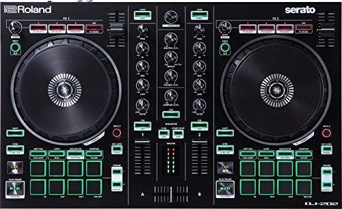 Roland DJ-202 - Controlador de DJ de 2 canales
