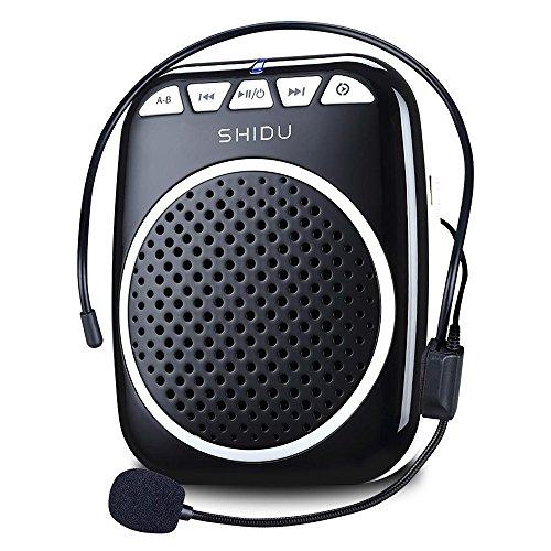Recbot Amplificador de Voz portátil Diadema con micrófono Cable Formato de Audio MP3 para...